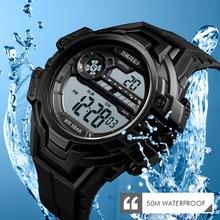 SKMEI Watch Men Digital Outdoor Sports LED Display Sports Military Hour Chronograph Fashion Retro Wristwatch Relogio недорого