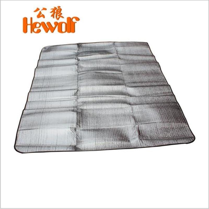 Storas aliuminio folijos atraminis putos drėgmės įrodymas matinis - Kempingai ir žygiai pėsčiomis - Nuotrauka 4