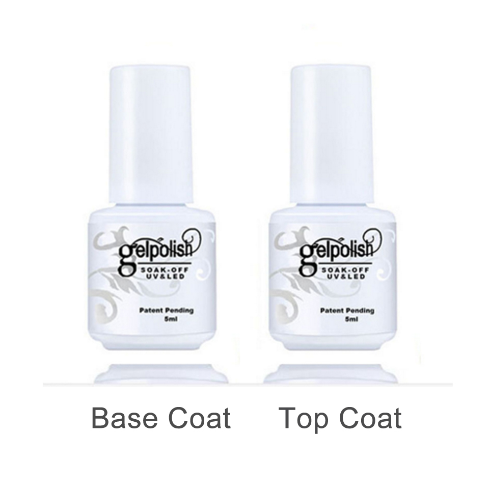 buy 5ml top and base for nail gel nailpolish set base and top coat nail gel. Black Bedroom Furniture Sets. Home Design Ideas