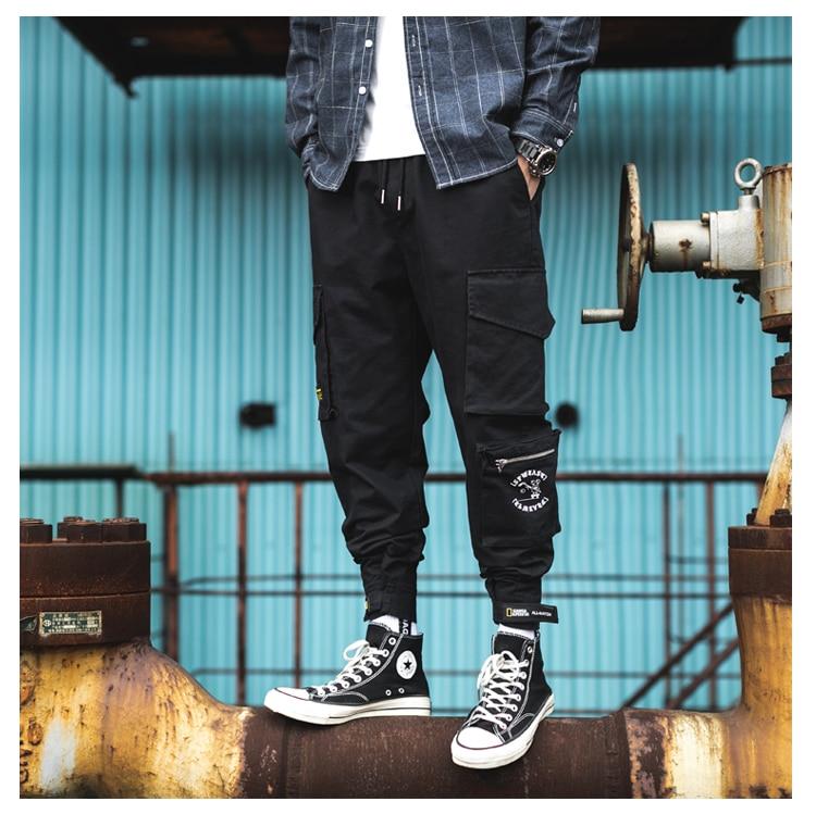 Moda Clássico Verão Homme Sweatpants Hip Hop