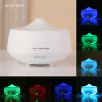 Home Office Humidificador De Aire LED Lighting Aroma Diffuser Essential Oil Ultrasonic Air Humidifier Purifier Atomizer