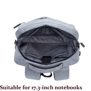 Image 3 - Erkekler Laptop çantası 17 dizüstü bilgisayar Laptop sırt çantası 17 inç büyük sırt çantası USB öğrenci sırt çantaları evren erkek 17 inç dizüstü bilgisayarlar