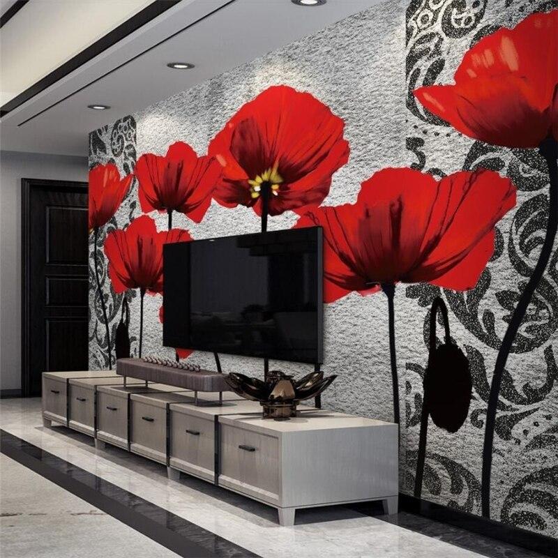 Beibehang 3d Wallpaper Murals Custom Living Room Bedroom