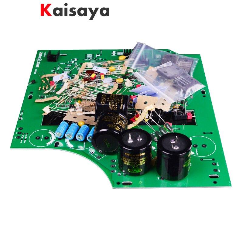 Наивысшее качество; Цвет Черный Box клон Naim NAP200 75 Вт + 75 Вт усилитель комплект Diy Мощность amp Комплект