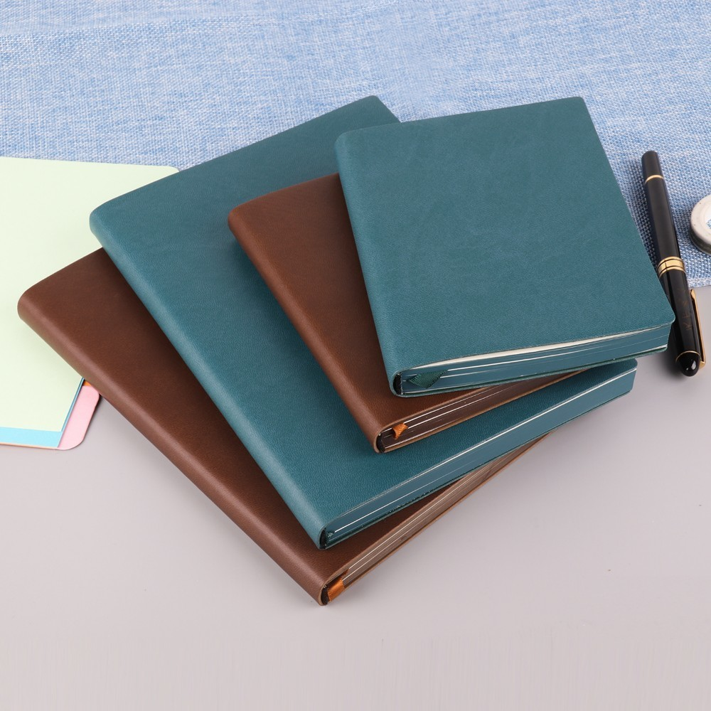 2018 New Arrivals Blank Notebook Diary A5 A6 Size Drawing Painting Travel Journal Brown Blue Sketchbook Office School Supplies marble a5 notebook blank page sketchbook diy drawing bullet journal daily planner school and office stationery wholesale