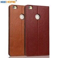 Case For Xiaomi Mi Max KEZiHOME Genuine Leather Flip Stand Leather Cover For Xiaomi Mi Max