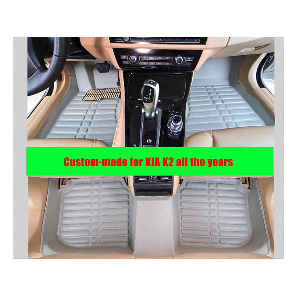 Floor mats kia - Custom Fit Fly5d Car Floor Mats For Kia K2 All The Years Left Hand Drive Front Amp