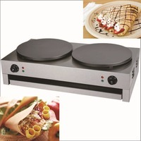 Double Commercial Crepe Maker Machine /Electric Pancake Maker Machine/ pancakes and crepe machine