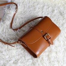 Heißer verkauf Luxus Echtem Leder frauen tasche kleine vintage solide schultertasche crossbody handtasche Lässig Einkaufstasche Bolsa Femininas