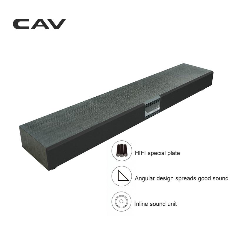 Système de son Surround de TV 2.1 de barre de son de la barre de son TM100 Home cinéma haut-parleur sans fil de Bluetooth DTS Audio virtuel d'écho de Surround