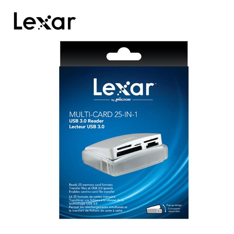 Lecteur de carte Original Lexar multi-cartes 25-en-1 lecteur de carte SuperSpeed USB 3.0 technologie pour CF SD TF XD M2 vitesse jusqu'à 500 mo/s - 4