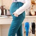 Новый Плюс размер женщин По Беременности И Родам Рабочие брюки одежда для беременных Свободные Хлопок Повседневная одежда для беременных бесплатная доставка
