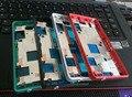 4 cores 100% nova frente faceplate oriente moldura capa quadro para sony xperia z3 mini compact m55w d5833 habitação + botões laterais