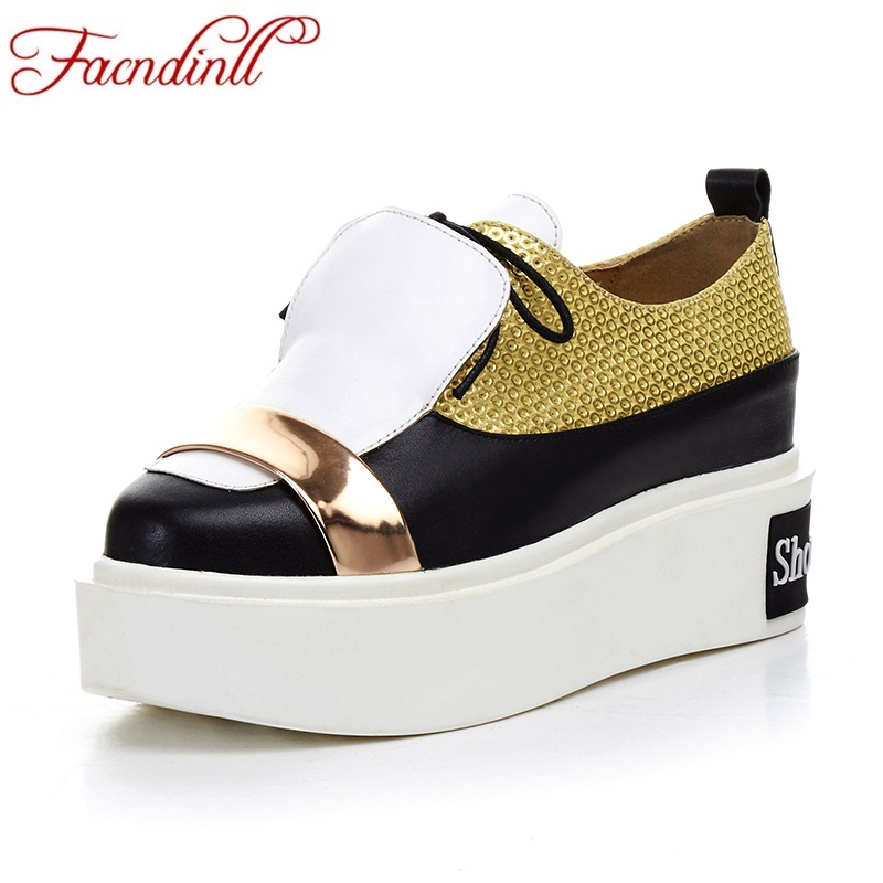FACNDINLL genuine leather women pumps shoes new fashion spring summer wedges heels platform lace-up shoes woman casual pumps woman fashion high heels sandals women genuine leather buckle summer shoes brand new wedges casual platform sandal gold silver