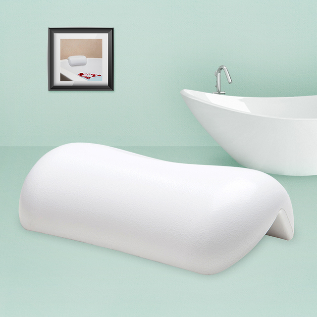 Fypo Bathroom Pillow Bathtub Pillow White&Black Waterproof Bath ...