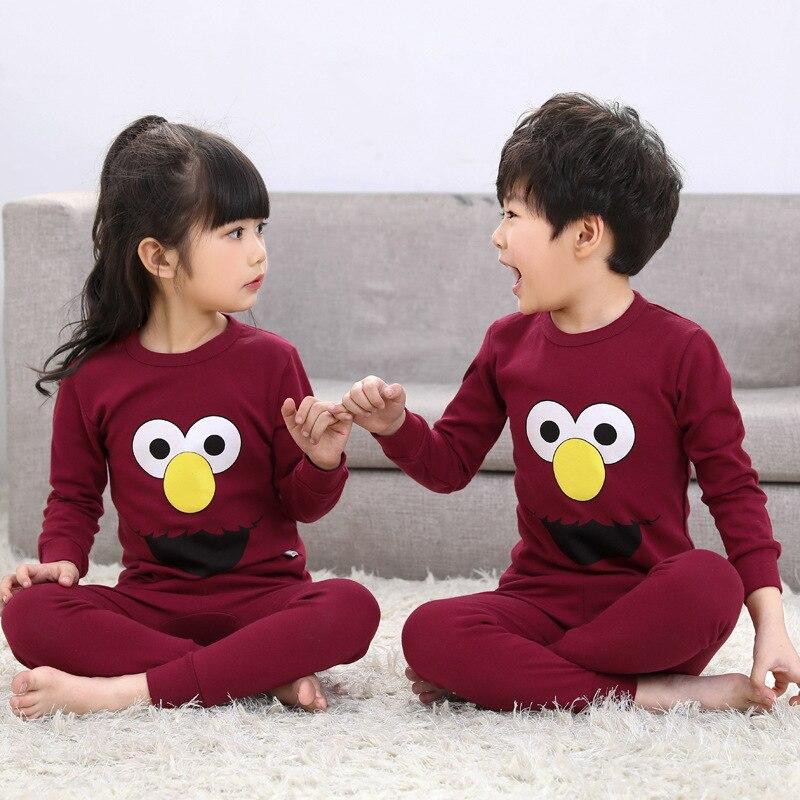 Herbst Baumwolle Jungen Nachtwäsche Kinder Pyjamas Kinder Baby Mädchen Pyjamas Einhorn Cartoon Kleidung Anzüge Nachtwäsche Pijama Infantil