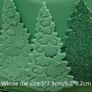 Image 2 - 2019 新着クリスマスツリー金属切削ダイステンシル DIY スクラップブッキングエンボス装飾フォトアルバム紙カードクラフト素質