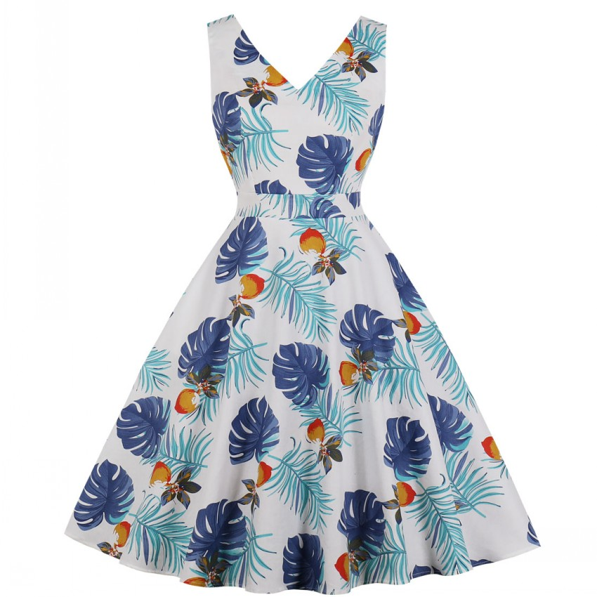 e955d7eab38aa All kinds of cheap motor vintage dresses 50s 60s rockabilly cotton ...