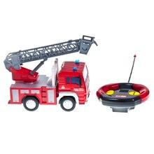 Пожарная машинка DREAM MAKERS Big Motors на радиоуправлении