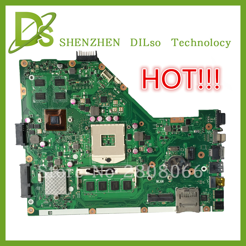 For ASUS X55VD laptop motherboard X55VD Original new DDR3 4G RAM rev2 1 Non Integrated freeshipping