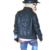 Jaqueta de Couro da criança 2017 das Crianças Para Meninos Pu Jaqueta De Couro Da Motocicleta PU Jaqueta De Couro de Lapela Fresco Casacos Outerwear 4-9 T
