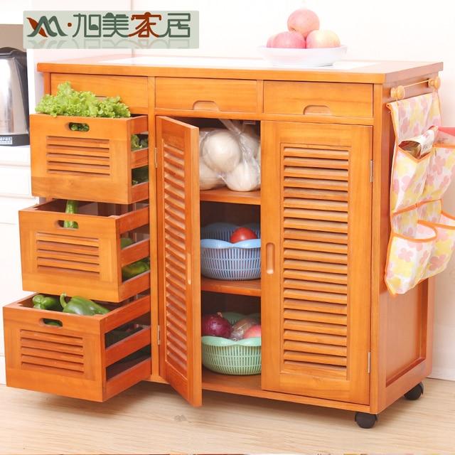 Xu Mei Wood modern sideboard cupboard dish meal kitchen counters ...