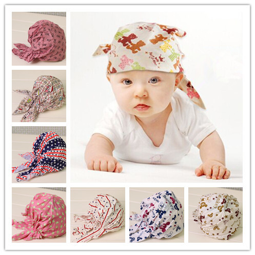 children newborn baby boy girl hair bandana head wraps knot headband turban fashion headwraps headbands headdress accessories