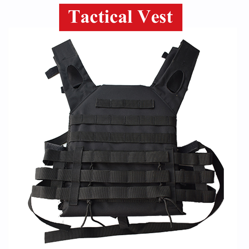 600D Oxford Army Military Equipment Tactical Vest Paintball Airsoft Hunting Vest For CS Wargame Combat Protective Carrier Vest