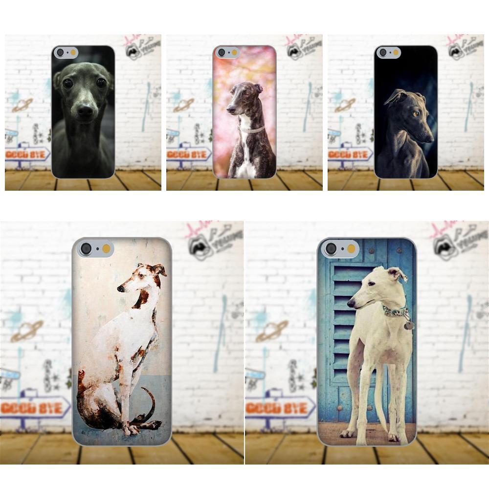 Soft Pattern Case Cover For Xiaomi Redmi 5 4A 3 3S Pro Mi4 Mi4i Mi5 Mi5S Mi Max Mix 2 Note 3 4 Plus Galgo Greyhound Dog Design