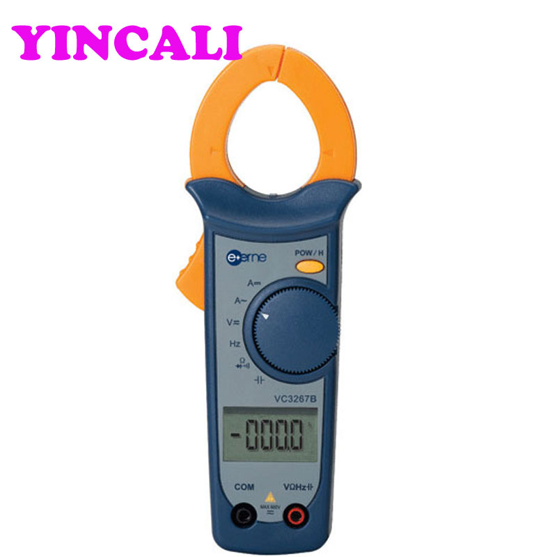 Digital DC Clamp Meter VC3267B Auto-range AC/DC Clamp Multimeter with CPU Data Retention Function auto range clamp style digital multimeter with strap dt3266l