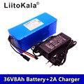 Liitokala 36В 8ah литиевая батарея высокой емкости Pacote de Massa + 42В 2А chager