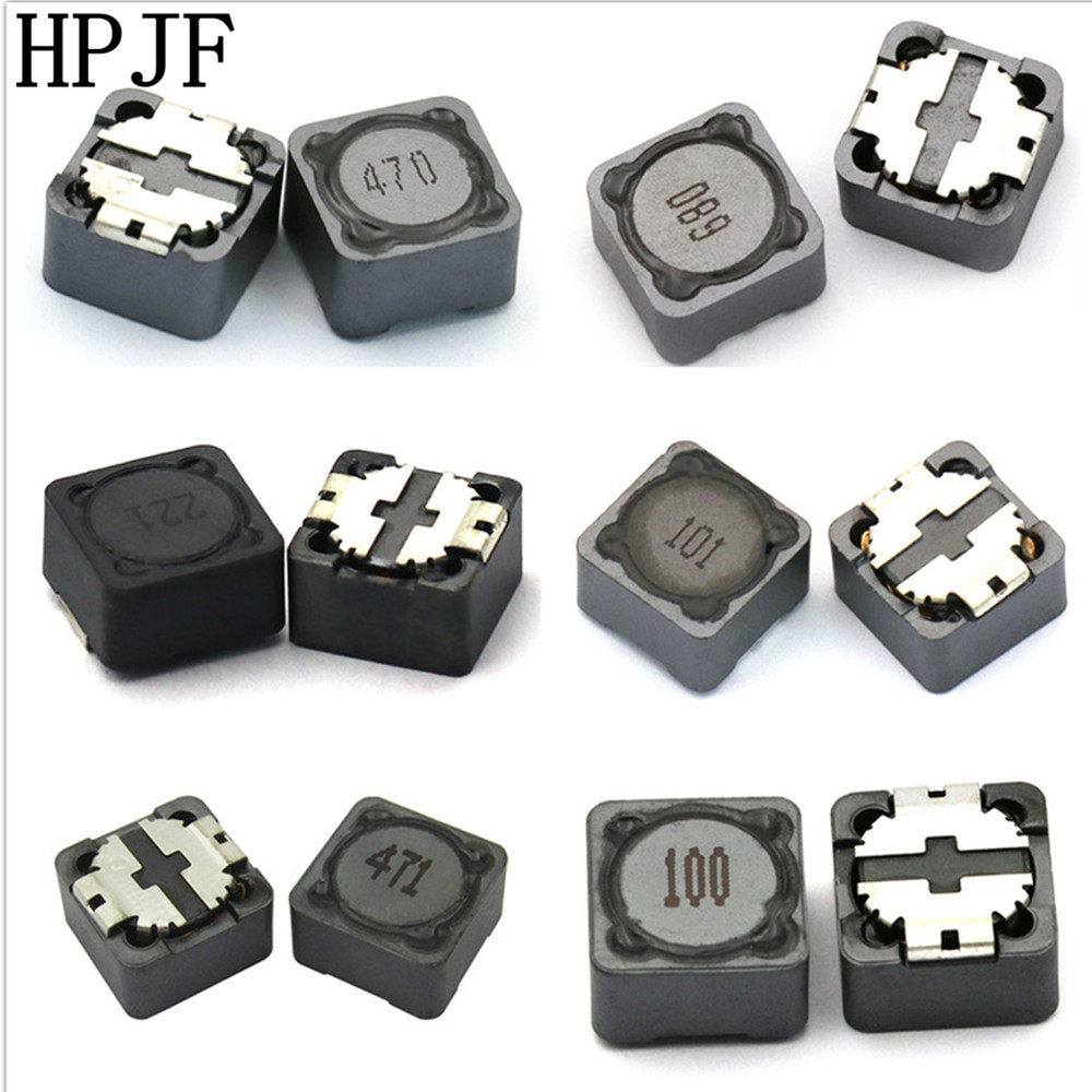 Lot of 10 SMT Power Inductor 4.7uH 1.5A 0.09 Ohm