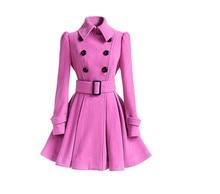hot 2017 winter Women's windbreaker Belt buckle dust coats suit collar long cotton coat female jacket spring women basic coats