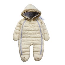 2016 High Quality down baby & kids winter outerwear warm clothes kid jumpsuit children baby wear parkas suitable 4-24month baby