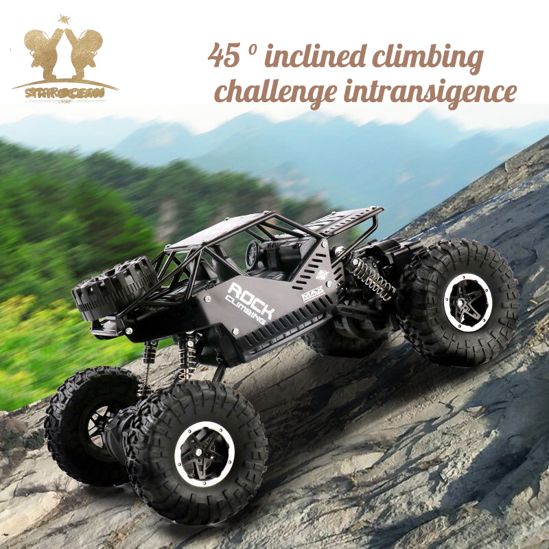 Image 5 - Rock Crawlers Driving Car Remote Control Off road Toys 4WD On The Radio Controlled 4x4 Drive Electric RC Cars Summer Holiday-in RC Cars from Toys & Hobbies