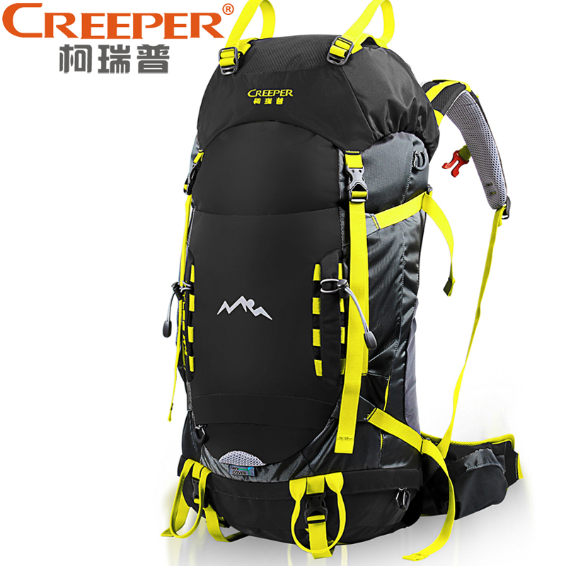 Creeper Sport Bag Rucksack Backpack for Outdoor Hiking Travel Climbing Camping Mountaineering with Rain Cover Molle creeper camping hiking backpacks outdoor molle waterproof travel sport bag daypack trekking rucksack with rain cover sporttas