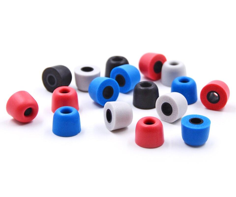 NICEHCK 1Pair(2pcs) 5mm T400 NICEHCK Noise Isolating Memory Foam Ear Tips Ear Foam Eartips For In Ear Earphone Earbud Headset
