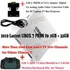 2019 IP tv UNBLOCK UBOX 7 PROS I9 2 ГБ 32 ГБ Android 7,0 Smart tv Box Корейский Японский HK Тайвань Малайзия ТВ каналы, MT08 клавиатура