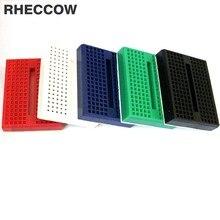RHECCOW 50 шт./партия, SYB-170, мини, цветной, безsolderless прототип, экспериментальный тестовый макет, 170 точек, 35*47*8,5 мм