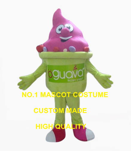 cool summer ice cream mascot costume adult size strawberry taste icecream theme anime cosplay costumes carnival fancy dress 2555