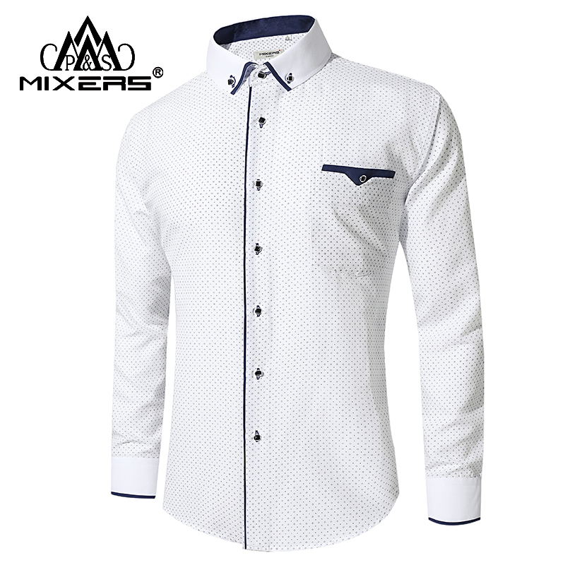 New Arrival 2018 White Shirt Men Long Sleeve Business Casual Shirts Men Dress Shirts Comfortable Clothing Camisa Masculina Aliexpress