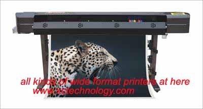 high speed wide format 6 color inkjet printer XC-860(1200dpi)
