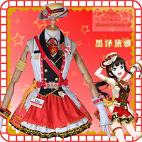 Anime Love Live Sunshine Kurosawa Dia Train Series Awakening Uniforms Cosplay Costume Lolita Lovely Dress H
