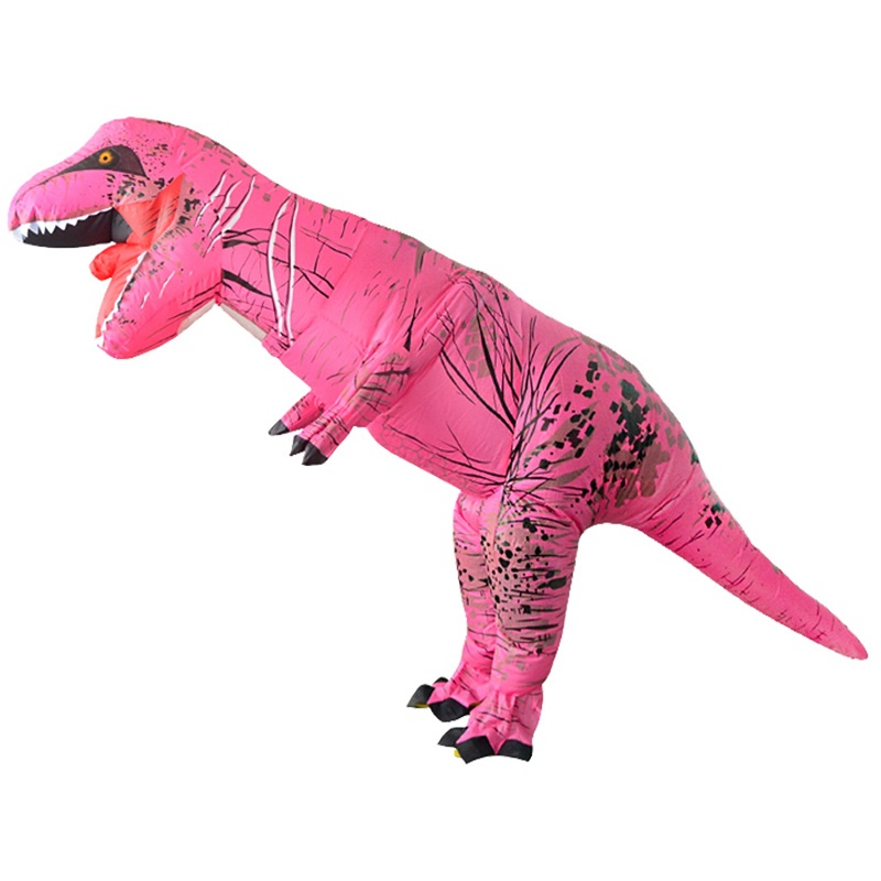 Kids Inflatable Costume Christmas Cosplay Dinosaur Animal Jumpsuit Halloween Costume for Women Men Children