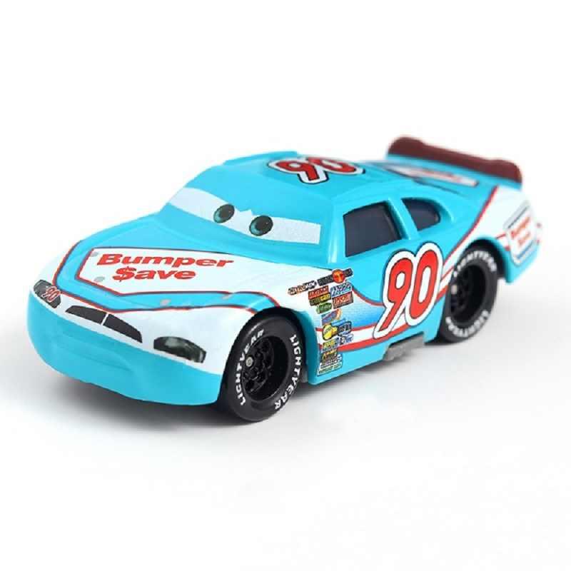 Disney Pixar Cars 3 Mobil 2 No 90 Bumper Menyimpan Truk Mack Paman Mainan Mobil Diecast 1:55 Longgar Baru dalam Saham Hadiah untuk Anak-anak