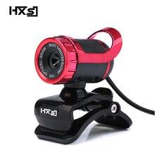 HXSJ HD píxeles de alta definición Webcamera CMOS Rotatable Webcams USB webcam con micrófono Mic para ordenador PC y portátil