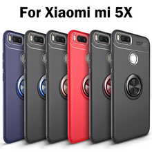 Case For Xiaomi MDG2 Mi A1 5X Global Dual SIM TD-LTE silicone phone bag for xiaomi mi 5.5 inch Pure color housing