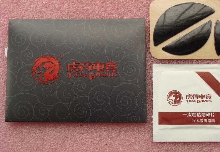 Hot Sale!!! 1sets/pack Original Tiger Gaming Mouse Feet For Logitech MX518 / G400 / G400S Teflon 0.6mm Mouseskate Free Shipping