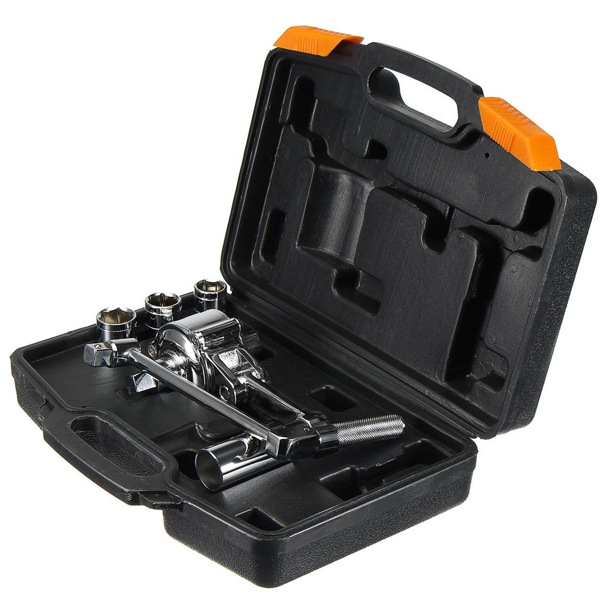 1 set Torque Multiplier Wrench Lug Nut Remover 1/2 Drive Socket 17 19 21mm Tire Change