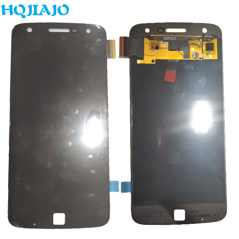 OLED LCD Display For Motorola Moto Z Play LCD Display Touch <font><b>Screen</b></font> Digitizer For Moto Z Play <font><b>XT1635</b></font> <font><b>XT1635</b></font>-02 image